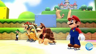 Mario and Sonic at the Sochi 2014 Olympic Winter Games - Mario Stage Medley