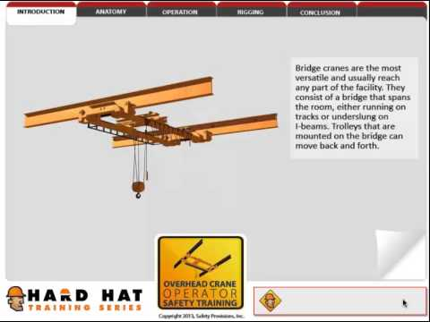 Overhead Crane Awareness - BC Alliance for Manufacturing