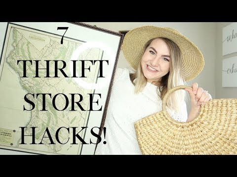 Thrift Shopping Tips, Tricks, And Haul!