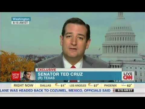 """Ted Cruz vs. CNN Anchor On Obamacare: """"I Appreciate Your Trying To Lecture Me"""""""