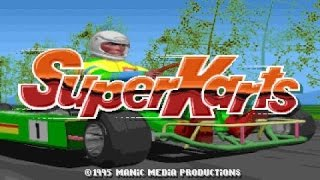 Super Karts gameplay (PC Game, 1995)