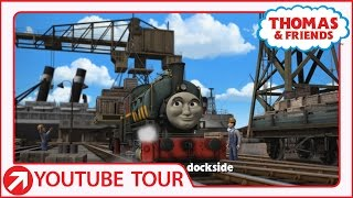 Down By The Docks | YouTube World Tour | Thomas & Friends