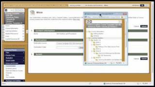 Bb كيفية إنشاء محتوى المجلد