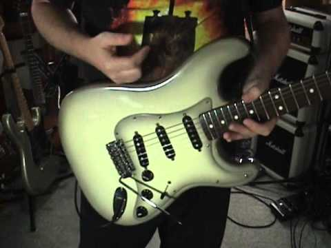 Rare Fender Stratocaster Antigua 1979-80-82-84 Guitar Review
