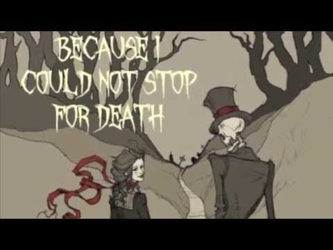 Emily Dickinson - Because I Could Not Stop For Death: A Visualization