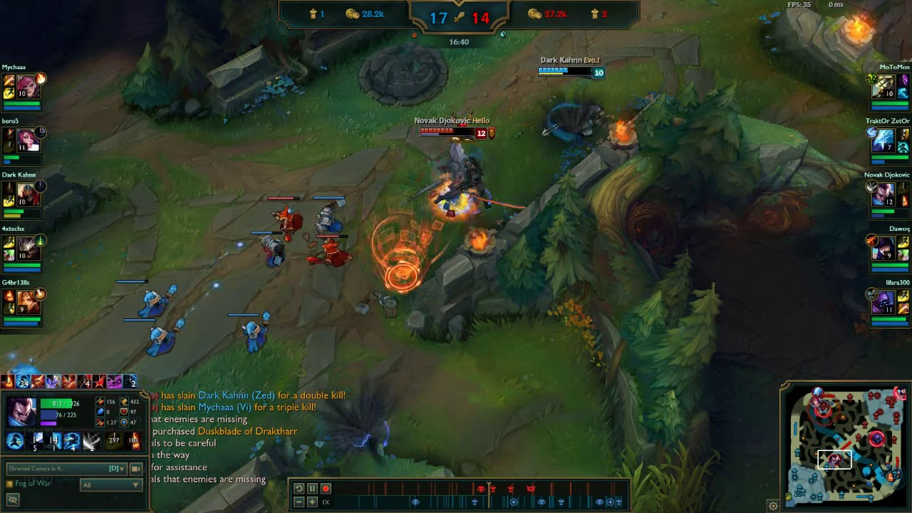 Amazing outplay as Yasuo