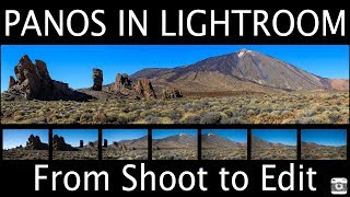 How to Create Panoramas from Shoot to Editing in Lightroom