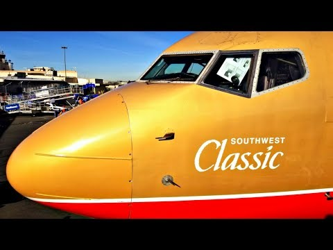 Flight on Southwest's Only Other 'Classic Retro Livery' (BUR-LAS)