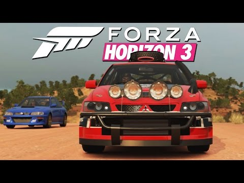 Zagrajmy w Forza Horizon 3 #10 - LANCER EVO RALLY - Xbox One