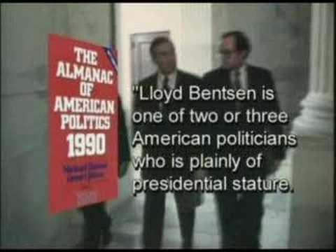 Senator Lloyd Bensten Tribute video