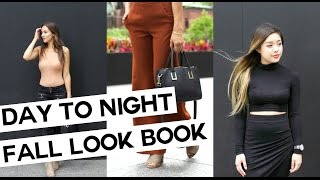 Day to Night: Fall Look Book with Jessica Lam