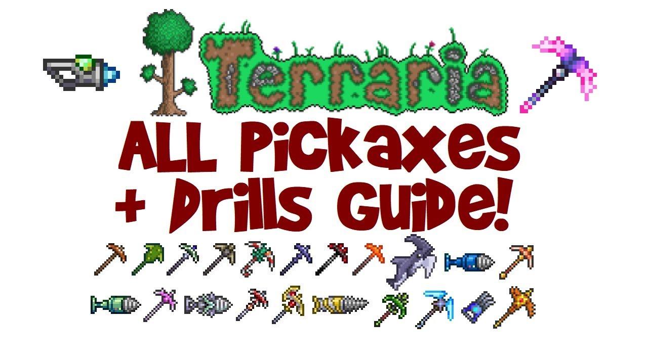 Terraria deathbringer pickaxe