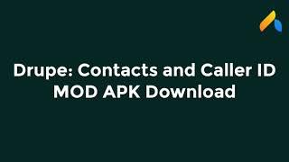 drupe – Contacts & Caller ID (MOD, Pro Unlocked) screenshot 1