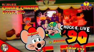 Roblox Chuck E. Cheese's Essex, MD - Chuck E. Live '90