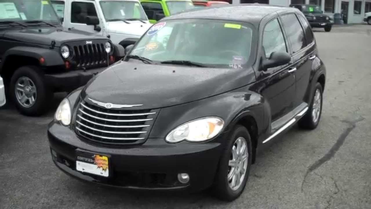 Best Priced Used 2010 Chrysler PT Cruiser Southern Maine Motors Saco Maine 04072