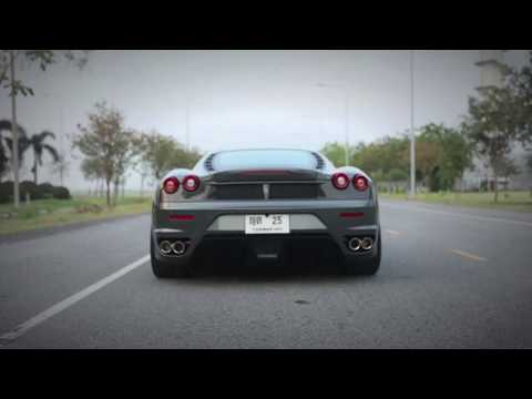 FERRARI F430 installed IPE F1 full exhaust system
