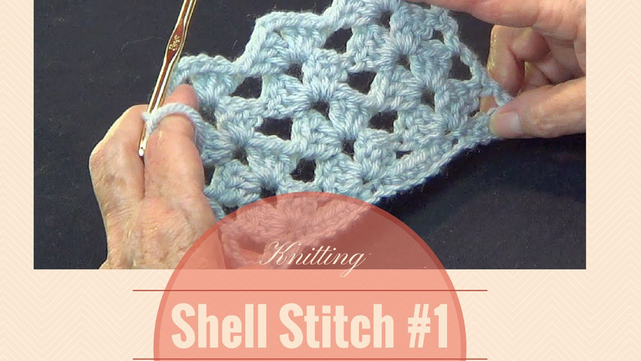 Double Shell Crochet Pattern Cool Inspiration Design