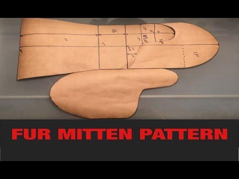 FUR MITTEN PATTERN - YouTube