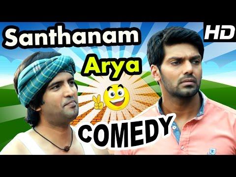 Santhanam - Arya Comedy Scenes   Raja Rani Tamil movie   Nayanthara   Nazriya   Sathyaraj   Jai