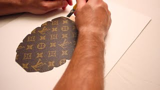 the making of louis vuitton grenade by javier martin