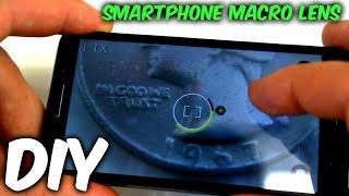 DIY Smartphone Macro Lens Test