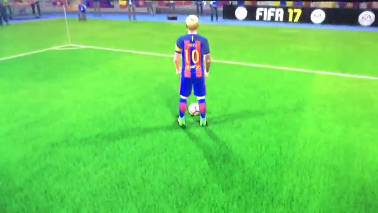 a930b9009 Fifa 17 What Does Messi Look Like With Nike Boots On - YouTube