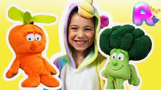 Yes Yes Vegetables song by Anna Kids
