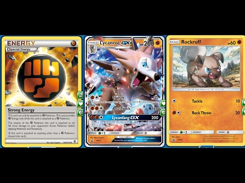 The WOLF GX, LYCANROC GX Deck, Instant Kill GX, EXCELLENT Move Set