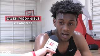 Jalen McDaniels 2018 Pre-Draft Workout Video