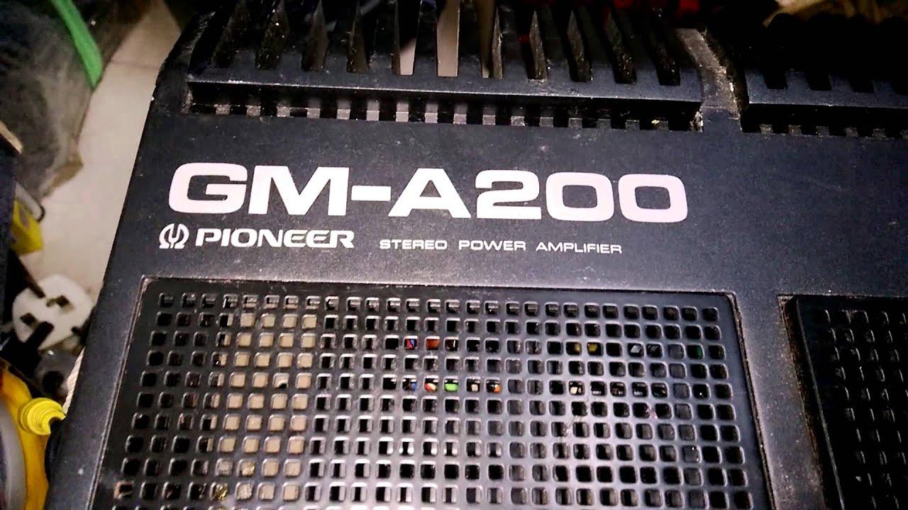 Pioneer Gm-a200