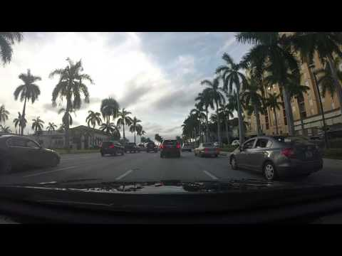 Driving to Miami from West Palm Beach GOPRO