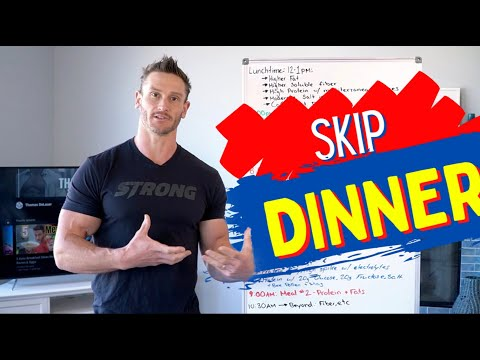 My New Fasting Routine (Skipping Dinner)