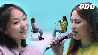 AOMG 노래를 눈 앞에서 들은 아이들의 반응 | ODG