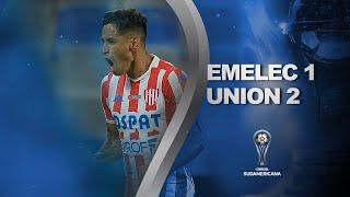 Emelec vs. Unión [1-2] | RESUMEN | Segunda Fase | CONMEBOL Sudamericana