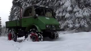 Unimog 411 am Limit im Schnee #EXTREME OFFROAD