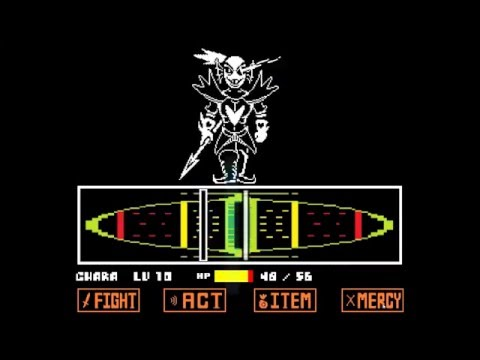 How to beat Undyne the Undying (No mercy run)