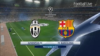 PES 2017 | UEFA Champions League | Juventus vs FC Barcelona | Gameplay PC
