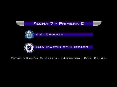 Fecha 7: San Martín de Burzaco vs JJ Urquiza EN VIVO