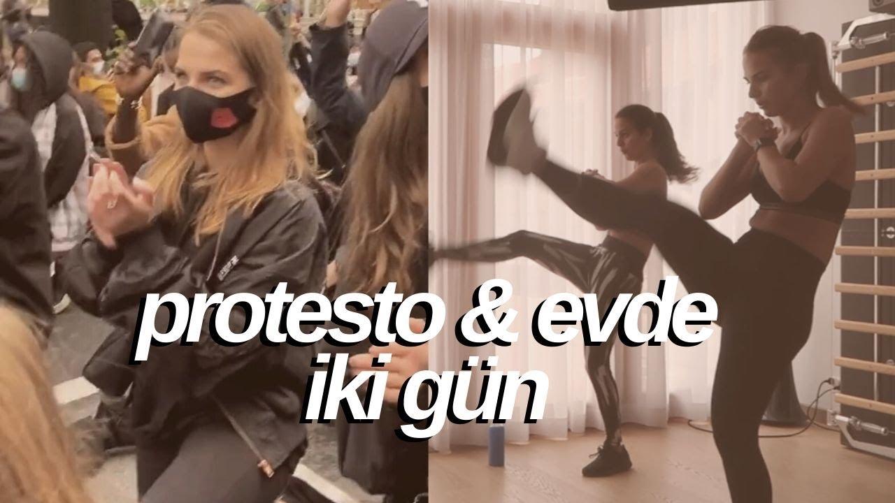 Protesto & Evde İki Gün   Spor, Neler Yiyorum