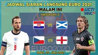 JADWAL SIARAN LANGSUNG EURO 2021 MALAM INI LIVE RCTI & MNC TV | SELASA 22 JUNI 2021