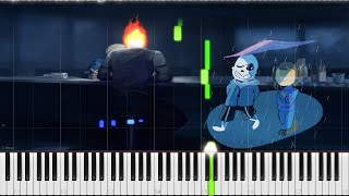 Undertale // It's Raining Somewhere Else // Piano // SANSynthesia // OST 63