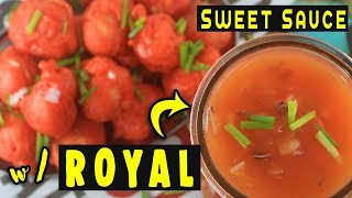Kwek Kwek/Fishball SWEET SAUCE with ROYAL