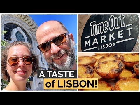 Time Out Market Lisbon food tour! | A taste of Portugal