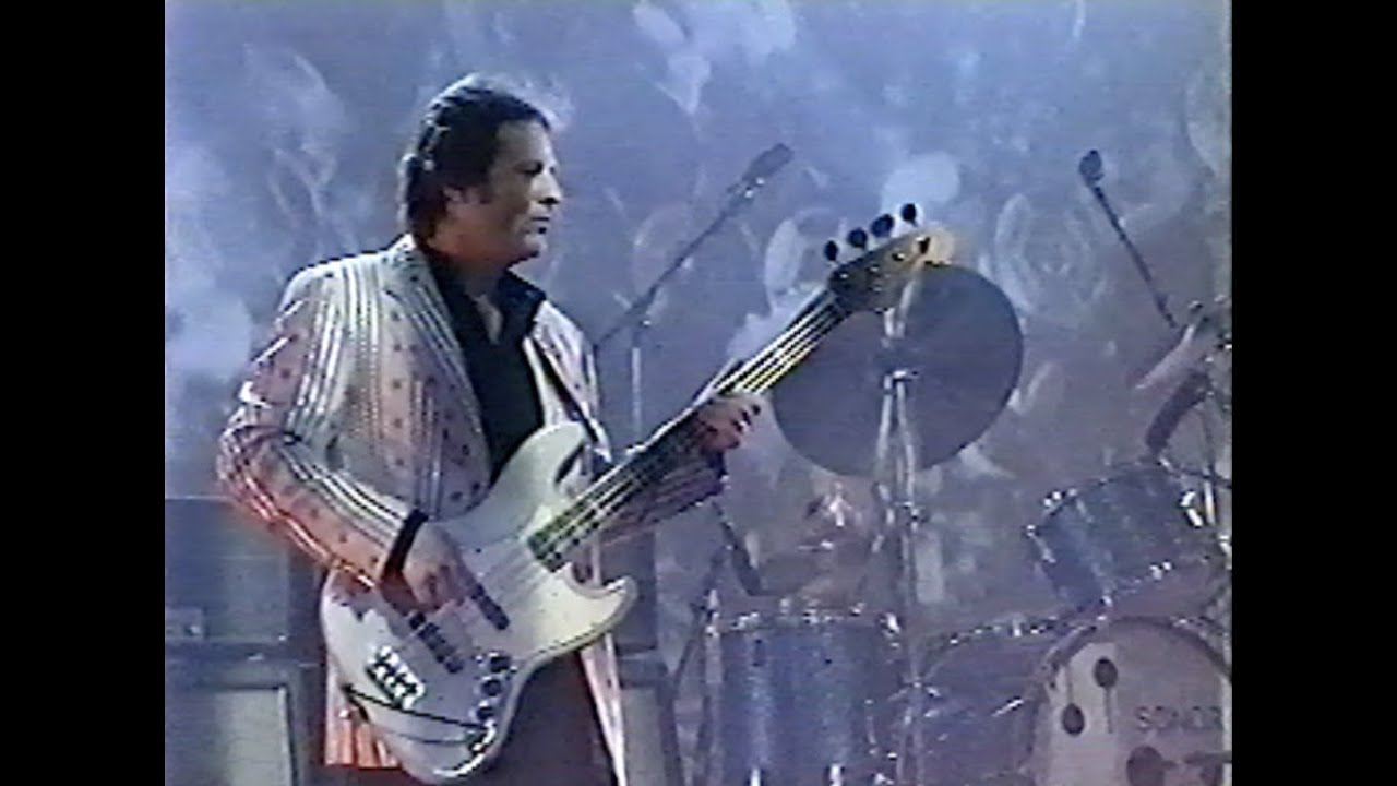 John  Paul Jones with Lenny Kravitz 1993