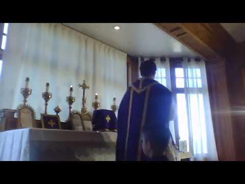 Ordinariate Traditional English Mass - Fri, Mar. 27, 2020