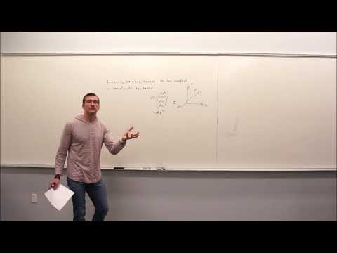 Particle Physics (2018) Topic 6: Lie Groups, Lie Algebras and an SO(3) Case Study