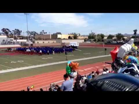 Gabriella's graduation from Arellanes Junior High School, Santa Maria, California 2016 June 7