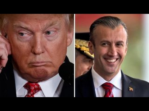 President Trump sanctions Venezuela's vice president