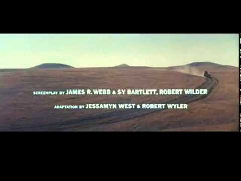 Saul Bass title sequence - The Big Country (1958)
