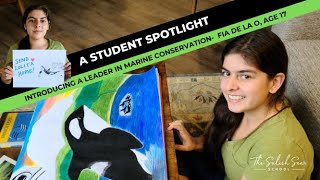 ACTION: An amazing student taking action for our oceans!